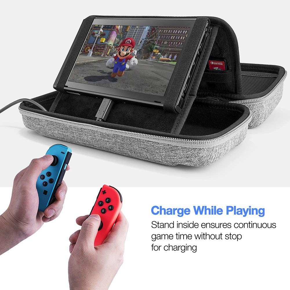 These New Nintendo Switch Travel Cases Look Perfect For Every Carrying Case Screen Protector Official And Finally We Have The Monster Of Group Designed Professional Gamers Those Who Need To Transport Their Entire System Setup