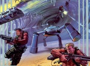 Blast some alien scum in Super C