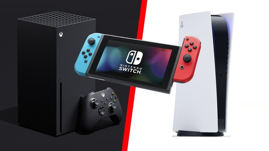 Switch PS5 Xbox