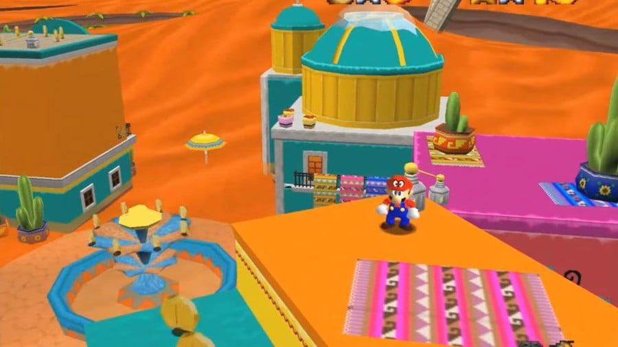 Mario Odyssey 64 Sand Kingdom