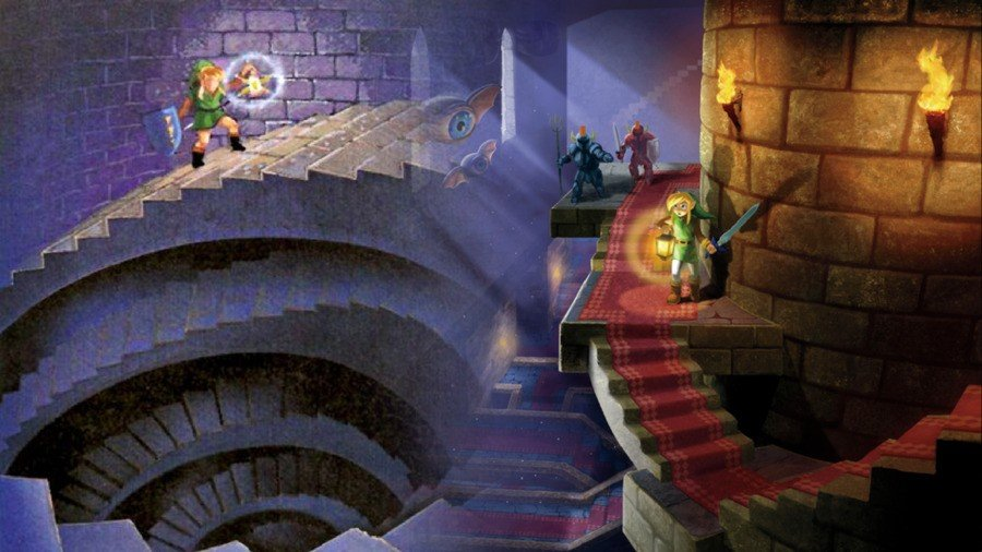 ALTTP and ALBW: Climbing the stairs(es)