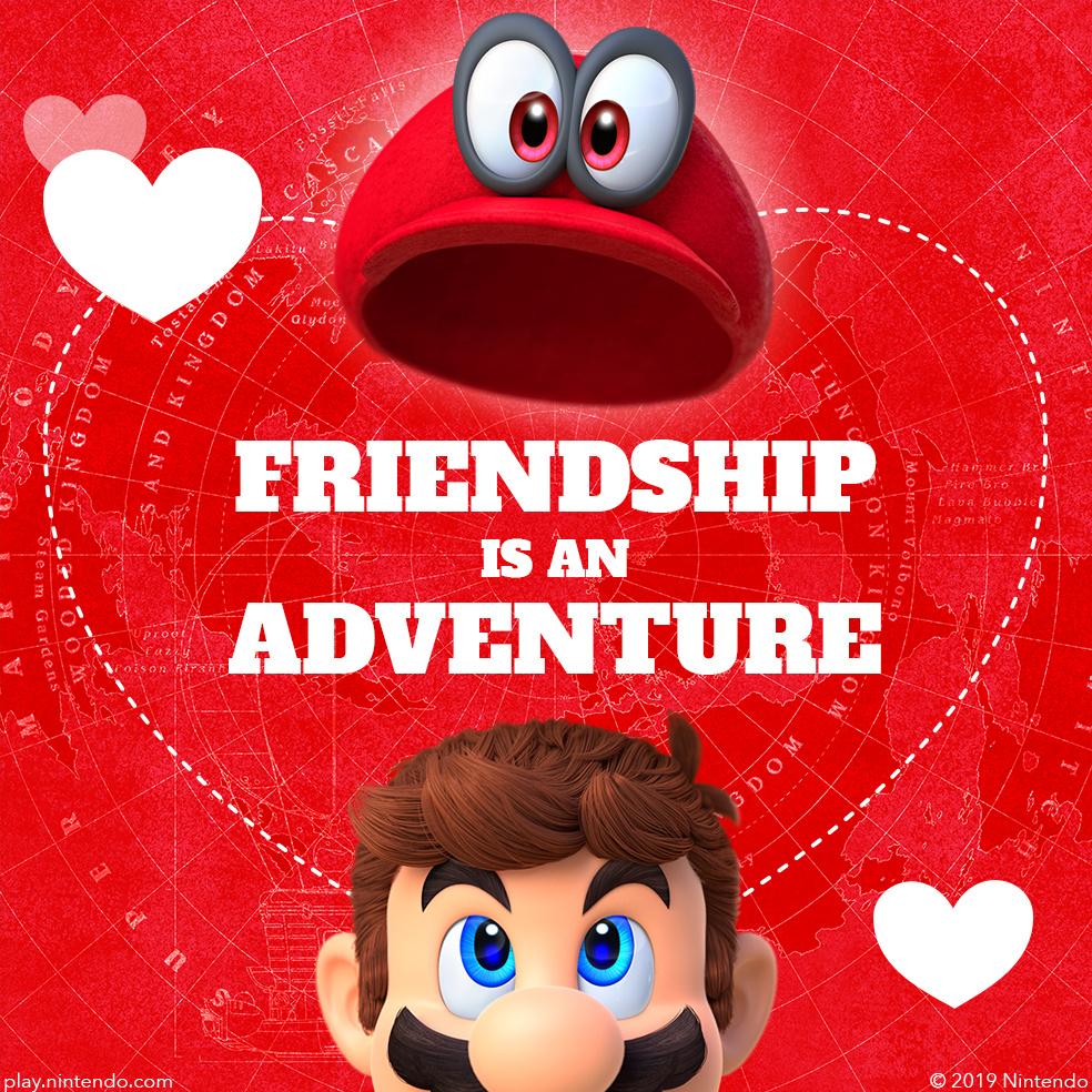 Valentines ECard Mario