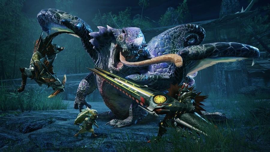 Monster Hunter Rise Update Ver. 2.0
