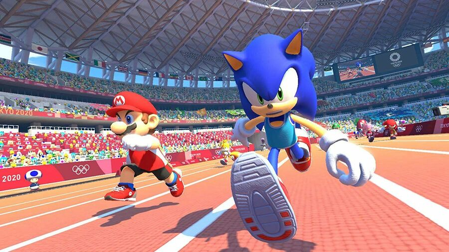 Mario Sonic Olympic Games Switch