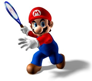Not a bad shot from Mario