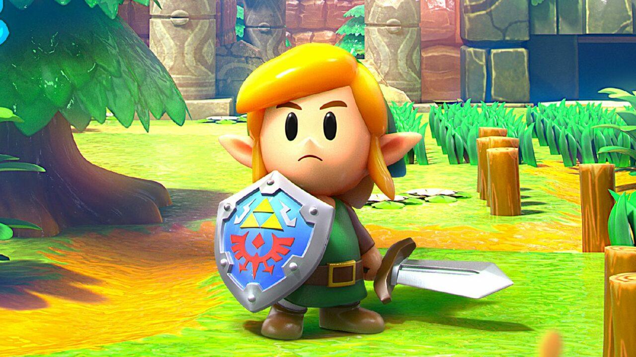 Video: We Have 10 Delightful Minutes Of Zelda: Link's