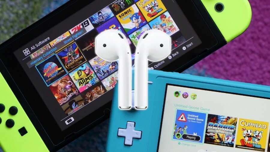 Nintendo Switch AirPods