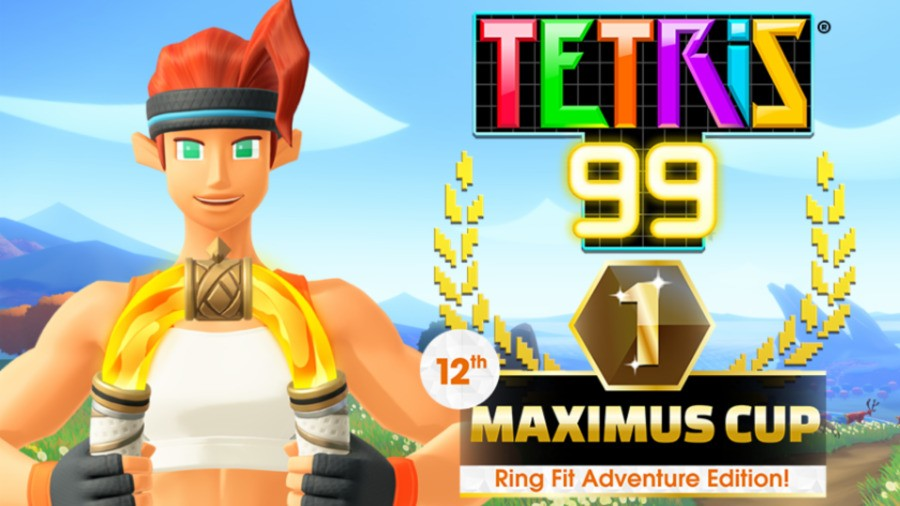 Tetris 99 - Ring Fit Adventure