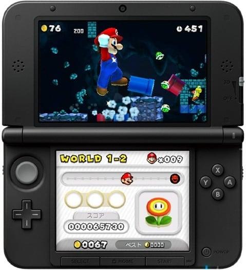 3ds Xl And New Super Mario Bros 2 Boast Big Sales In Japan