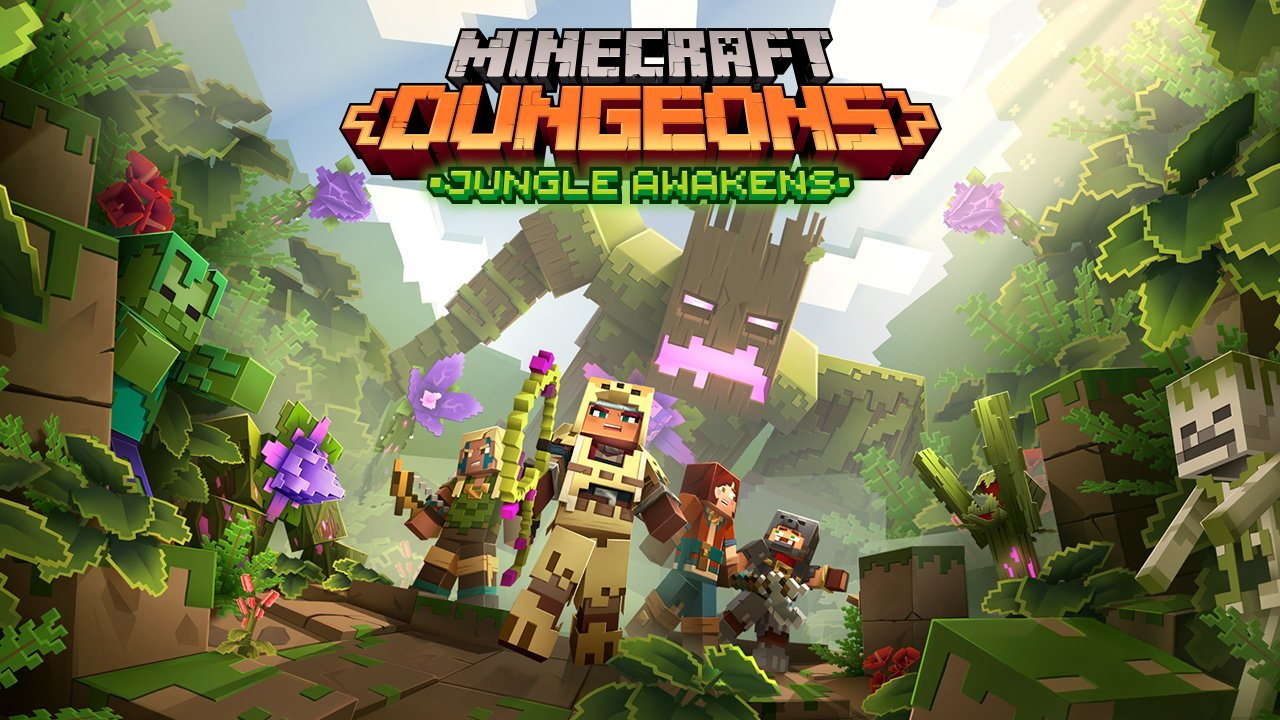 Minecraft Dungeons: First Two DLC's Revealed - Release Dates and Details