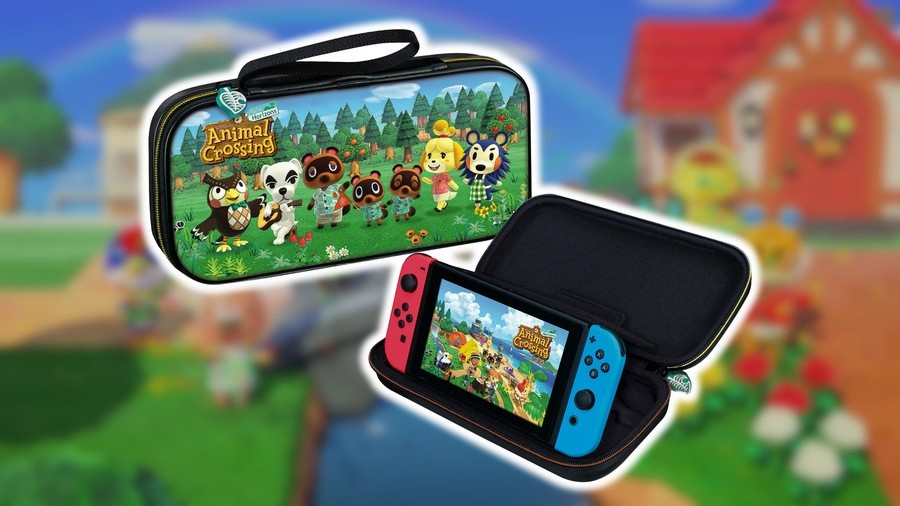 Animal Crossing Switch case