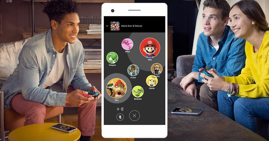 Nintendo Switch Online Voice Chat