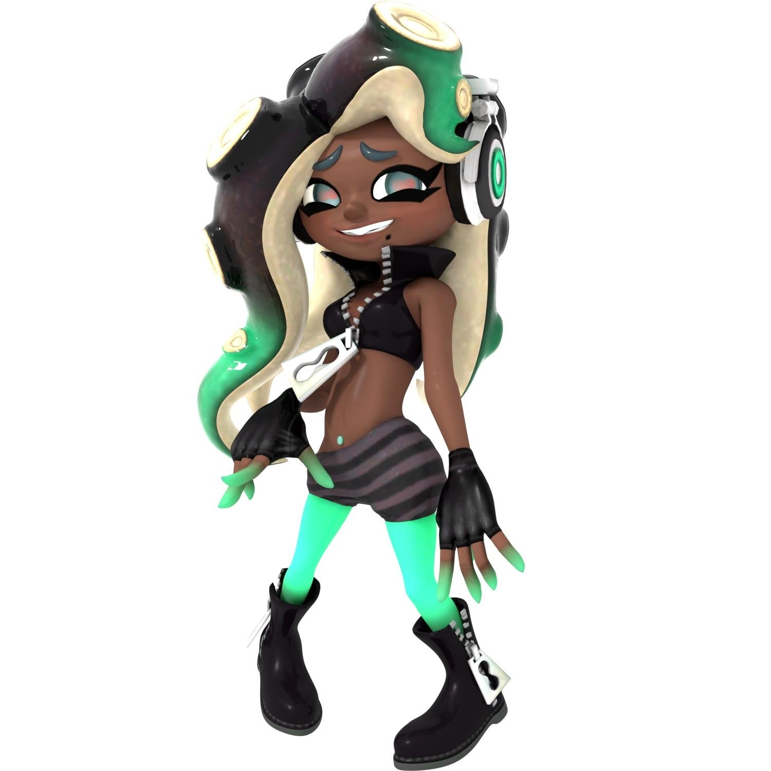 Random: Is That Marina From Splatoon 2 On The Xbox One