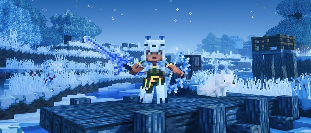 Mojang's New Winter Event For Minecraft Dungeons Is Live