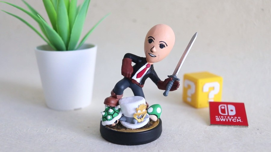 Doug Bowser amiibo