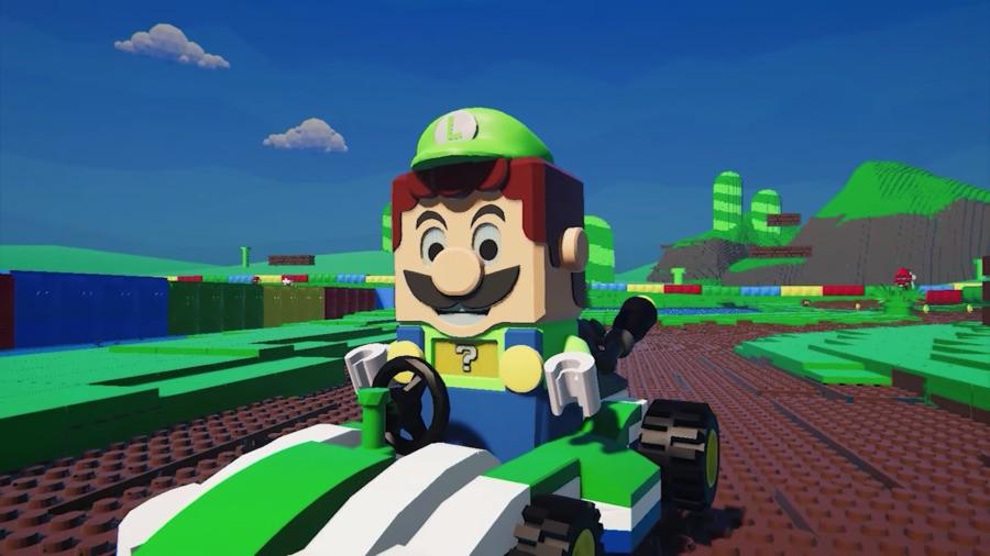 LEGO Mario Kart, fan-made