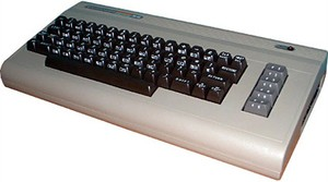 "The mighty ""breadbox"" itself - the Commodore 64"