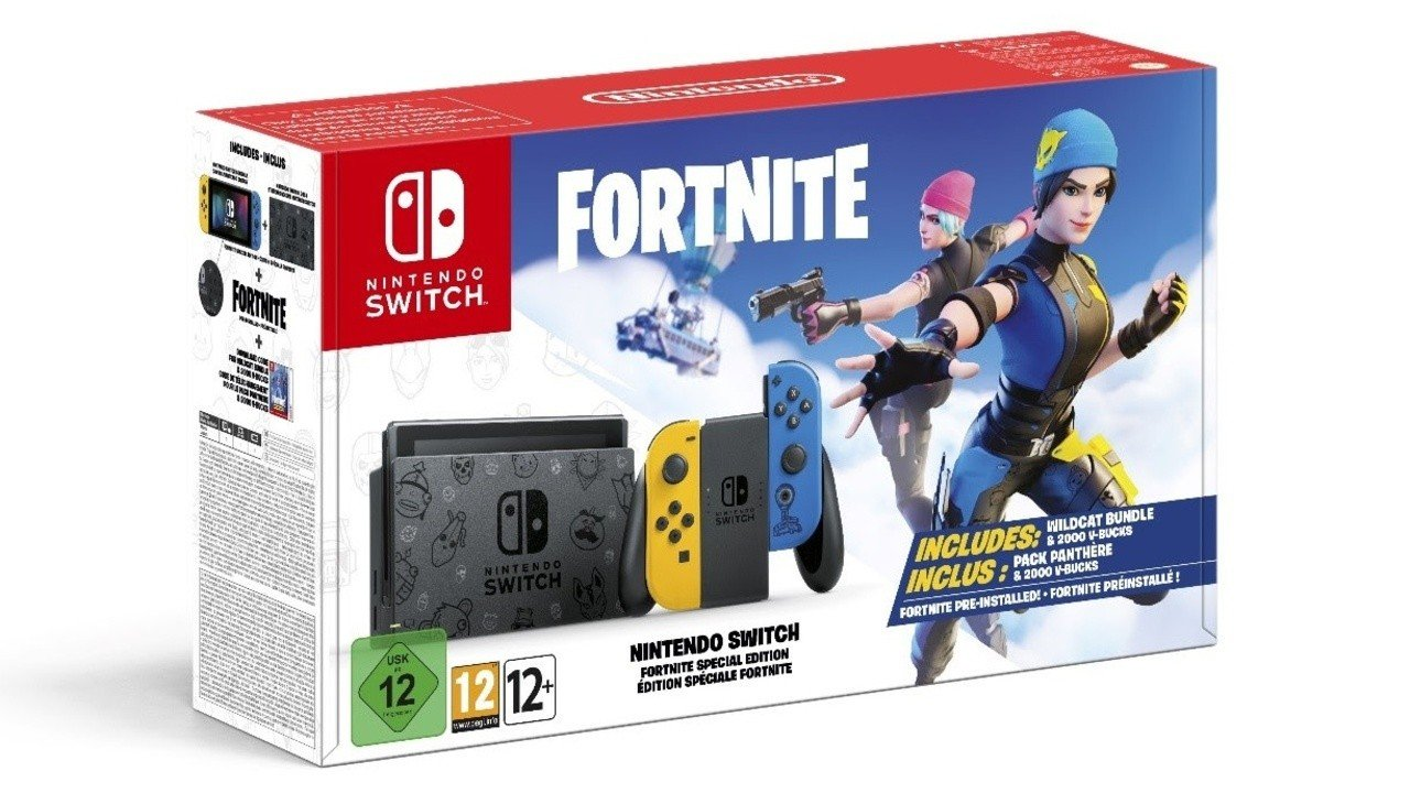 Will There Be A New Wii Switch Fornite Bundle Christmas 2020 A Limited Edition Fortnite Nintendo Switch Bundle Has Been