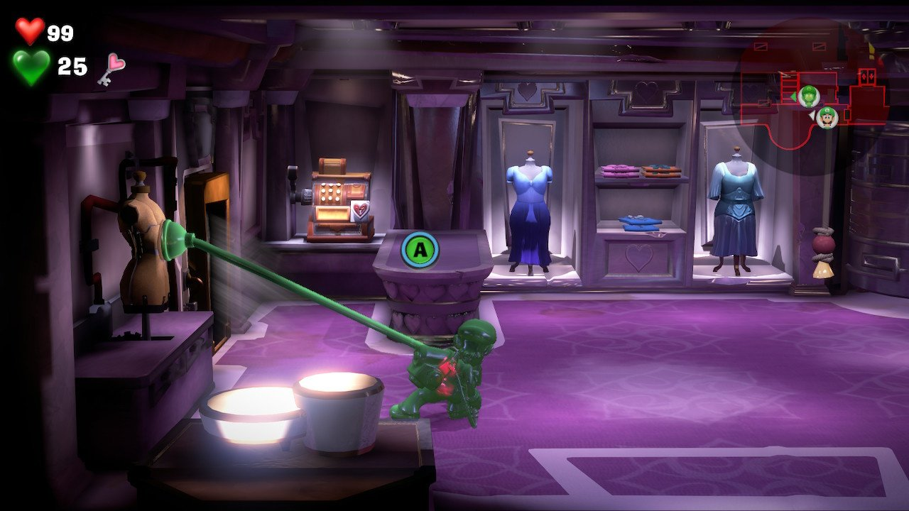 Luigi S Mansion 3 Gem Locations And Gem Maps For Every