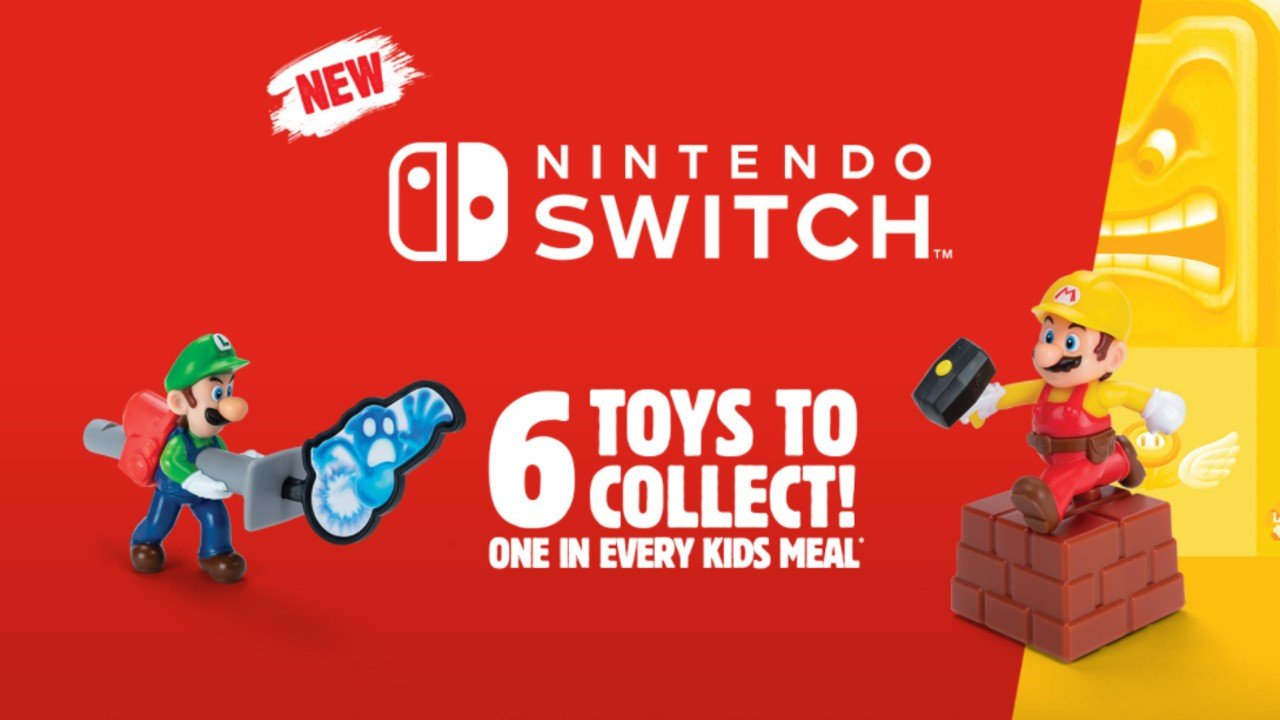 Nintendo Toys Coming To Burger King Kids Meals In Germany, Austria, And Australia 2