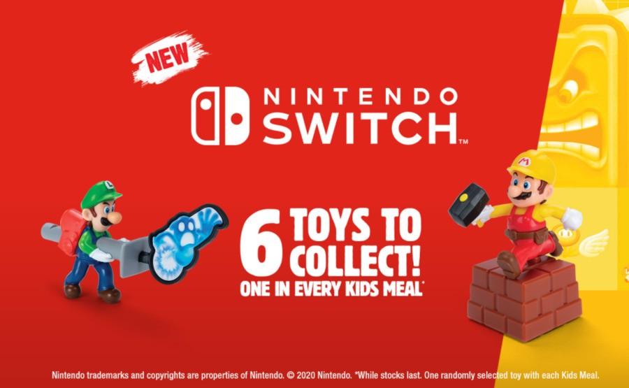Burger King Switch Toys