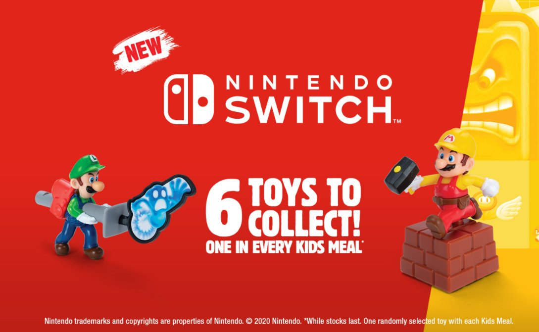 Nintendo Toys Coming To Burger King Kids Meals In Germany, Austria, And Australia