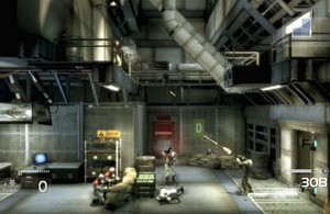 Chair Entertainment's Shadow Complex couldn't have been done without physical controls, so touchscreen gaming isn't quite ready to conquer the gaming world
