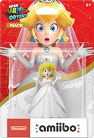 Peach Wedding Outfit amiibo Pack