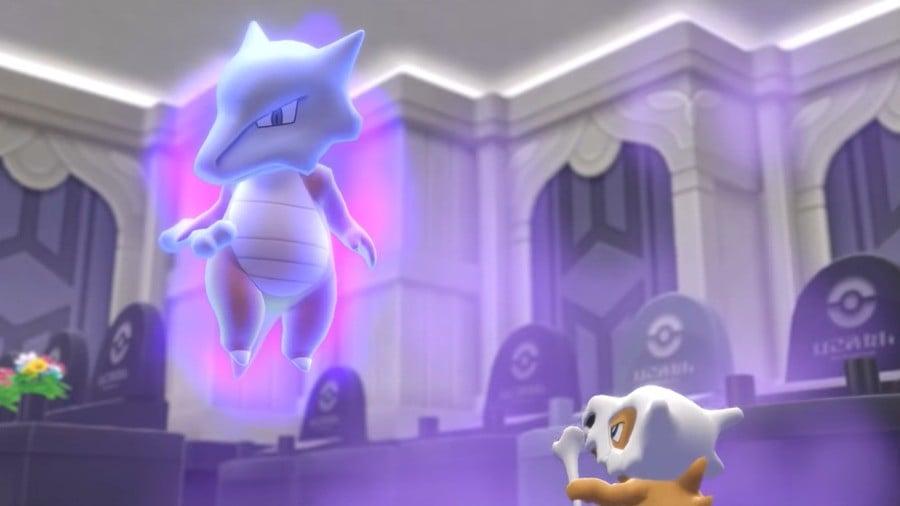 The Marowak ghost (Pokémon Red and Blue)