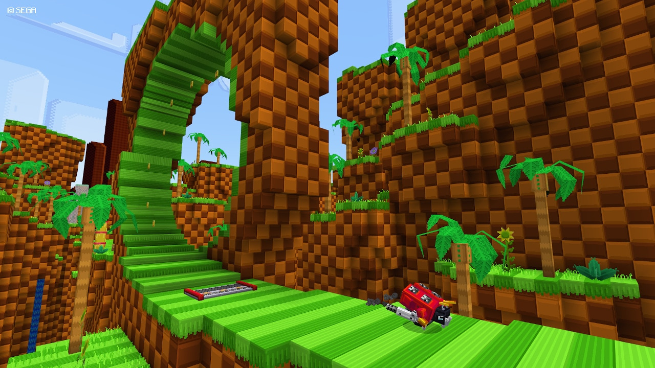 Sonic The Hedgehog Minecraft DLC Brings Back Chao Garden