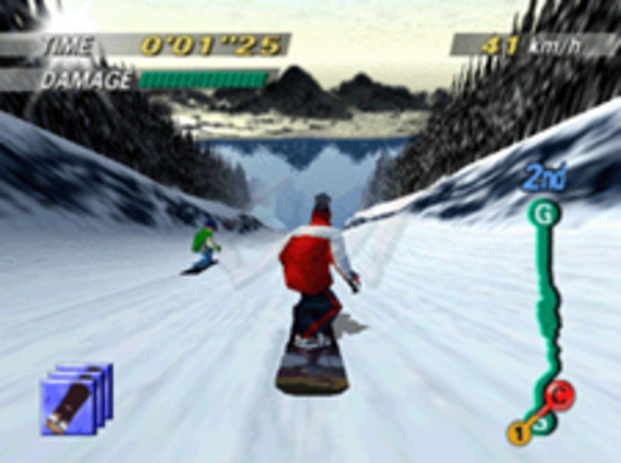 Now you too can snowboard down dangerous mountains without fear of losing life or limb!