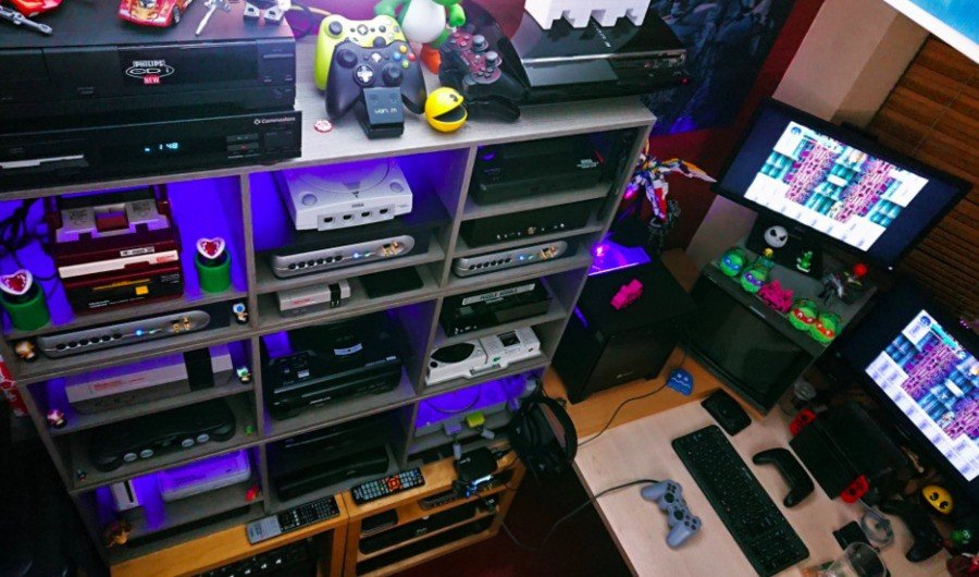 Lock's own collection contains plenty of systems he has taken the time to bring back to life