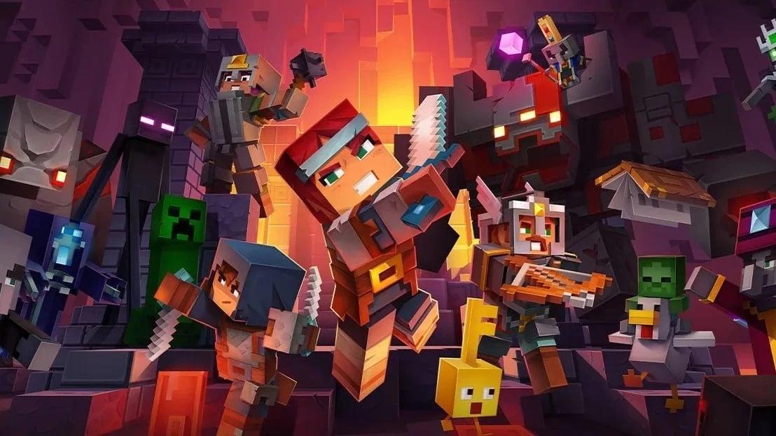 Minecraft Dungeons Adds Cross-Platform Multiplayer In Its Latest Update