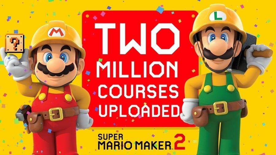 Super Mario Maker 2 Million Courses
