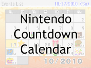 Nintendo Countdown Calendar