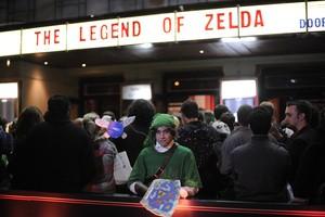 Zelda fans invade London's Hammersmith Apollo