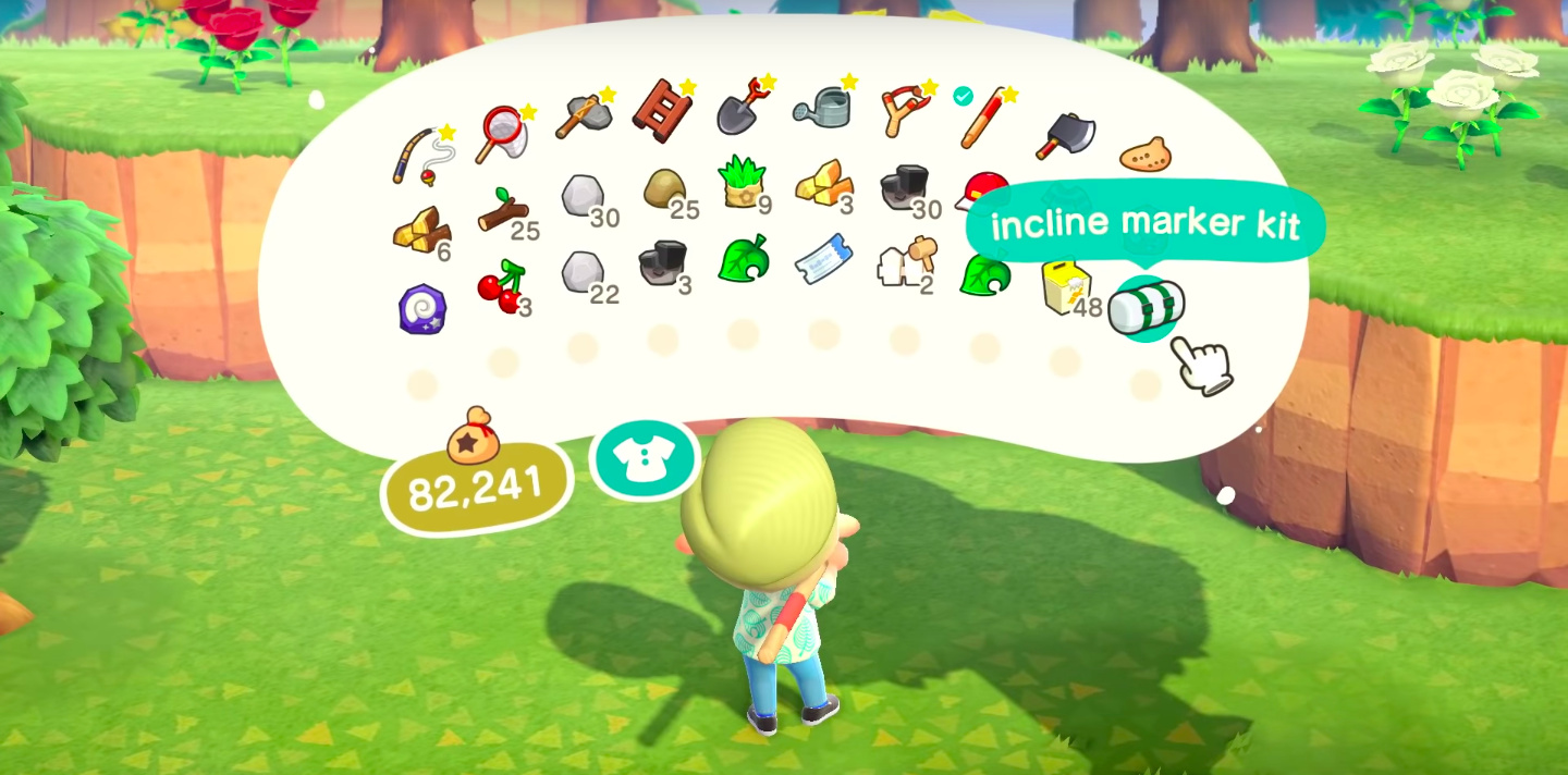 Animal Crossing New Horizons Pockets Inventory Upgrade How To