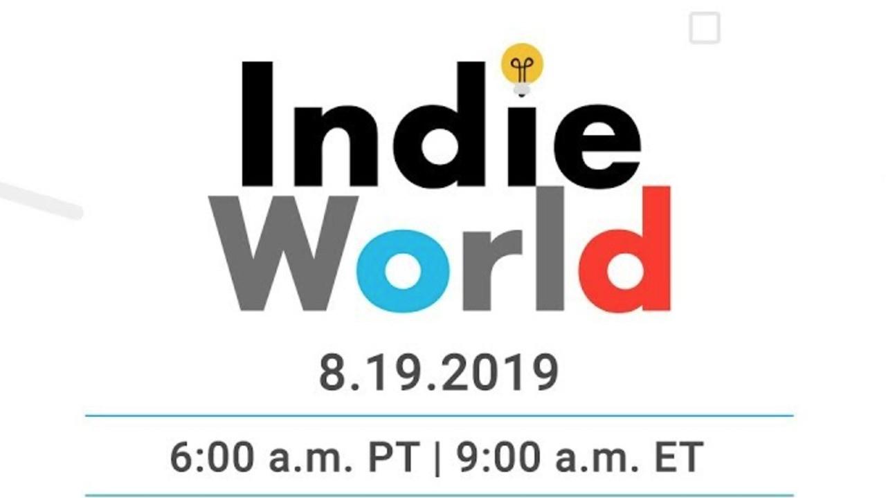 Watch: Nintendo Indie World Showcase - August 2019