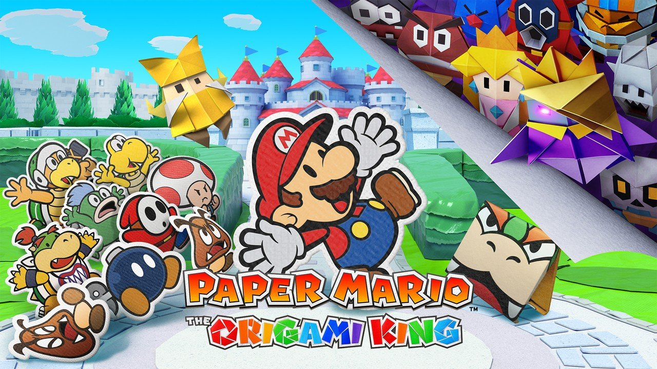 Paper Mario Is Coming To Switch Paper Mario The Origami King To