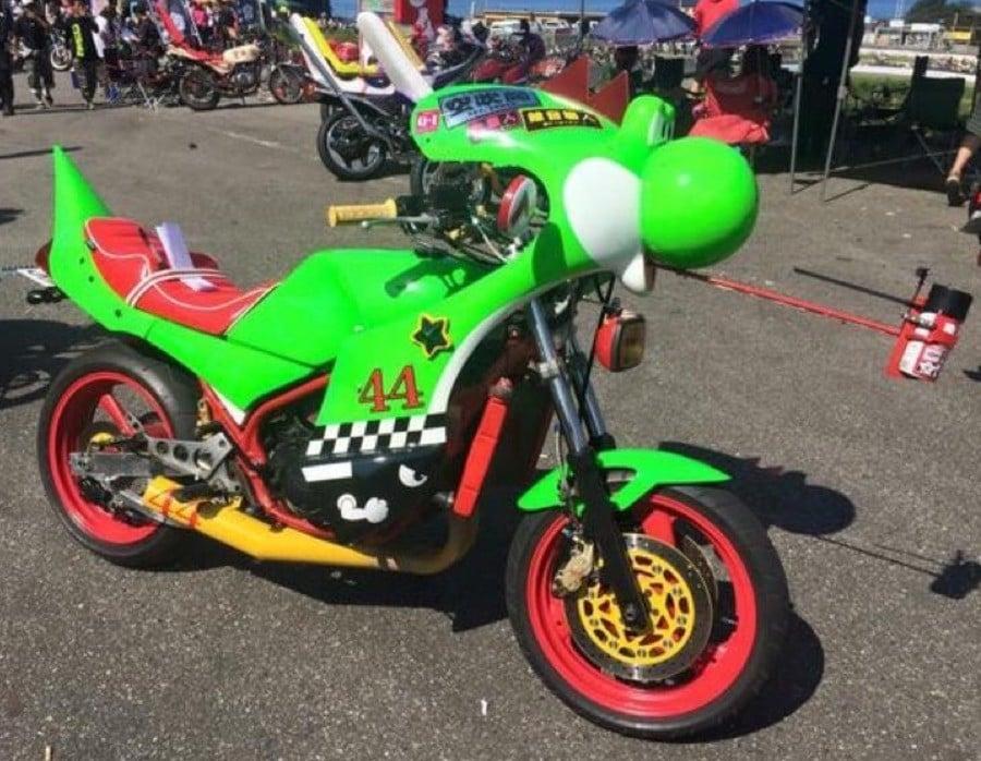 Yoshi Bike 1