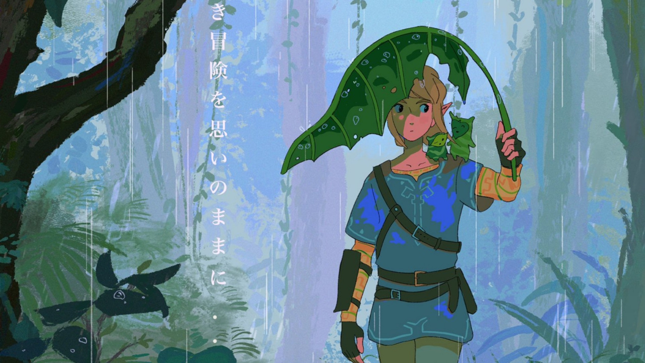Random: These Zelda: Breath Of The Wild Fanmade Posters Turn The Game Into A Ghibli Movie