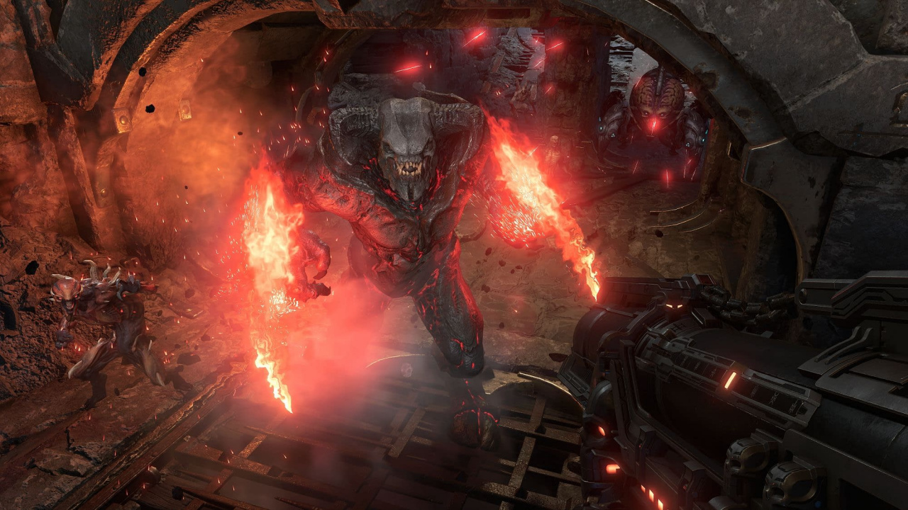 Panic Button Explains Why DOOM Eternal's Cutscenes Run At 20fps On Switch