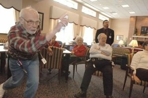The Wii's controls mean that people of all ages can play, which is a good thing surely?