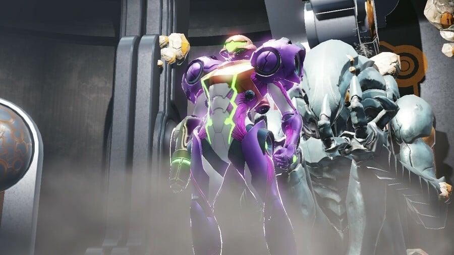 Metroid Dread Gravity Suit