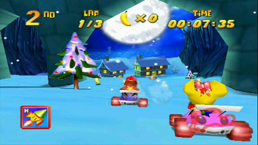 Diddy Kong Racing - Frosty Village (N64)
