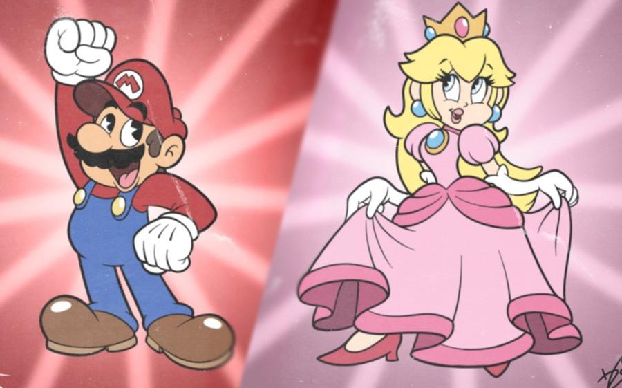 Peach & Mario
