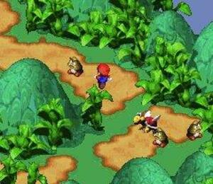 Super Mario RPG has some of the greatest SNES visuals.