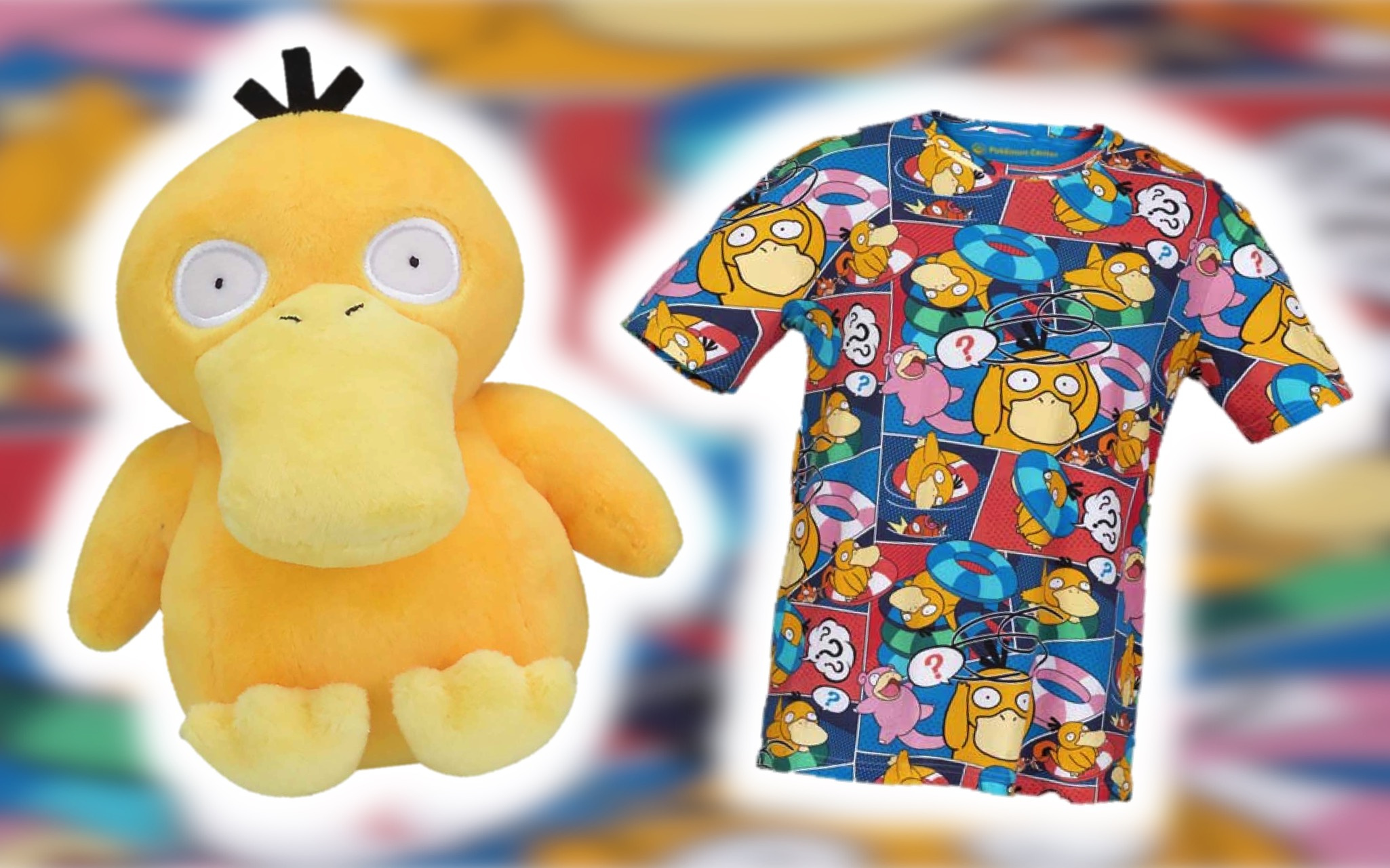 The US Pokémon Center Store Has Introduced A 'Psyduck Bewildered