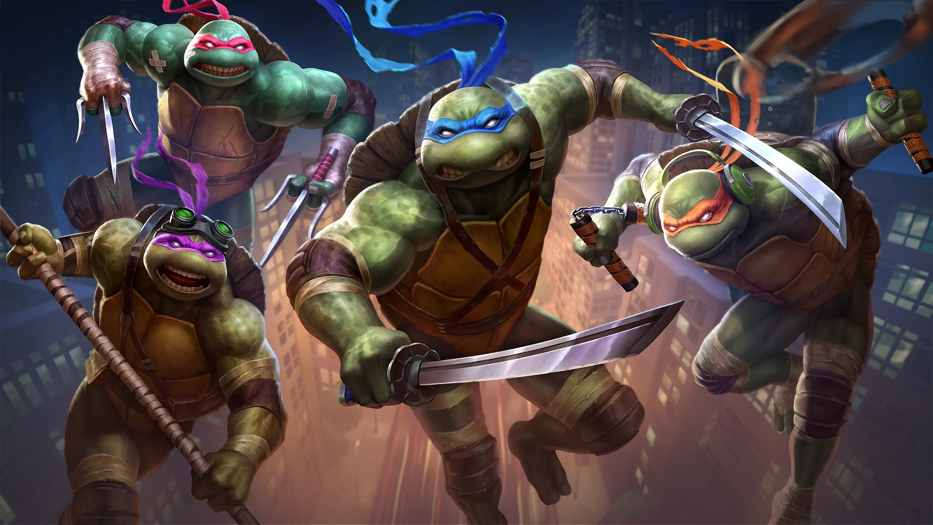Smite Adds Teenage Mutant Ninja Turtles As Playable Characters Nintendo Life