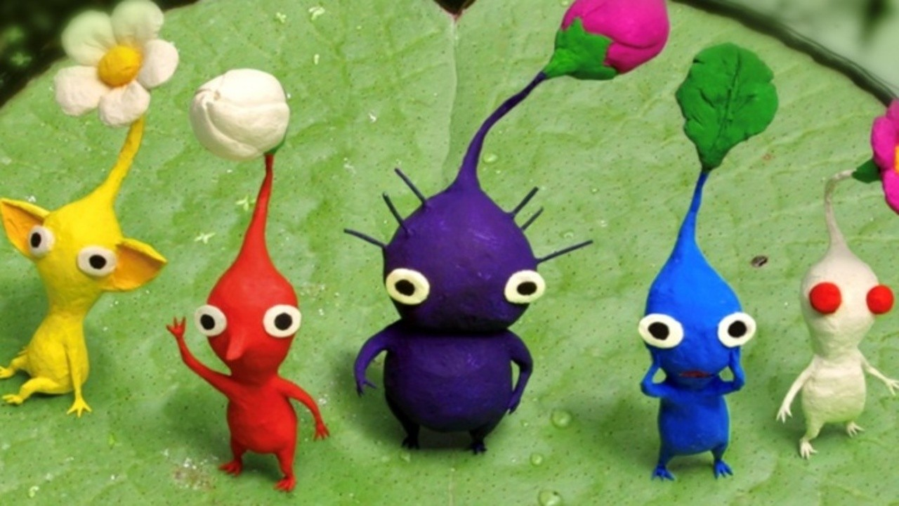 Random Nintendo Took Down The Official Pikmin 3 Website And The